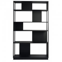 Bibliothèque design métal Arlequin largeur 120cm