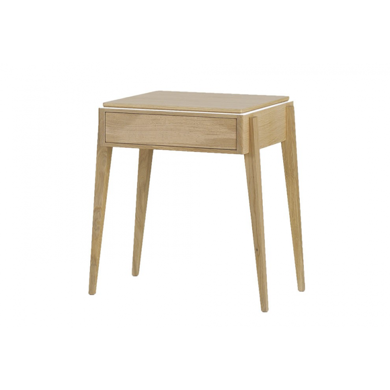 Table de chevet liser amobois - Table de chevet merisier ...