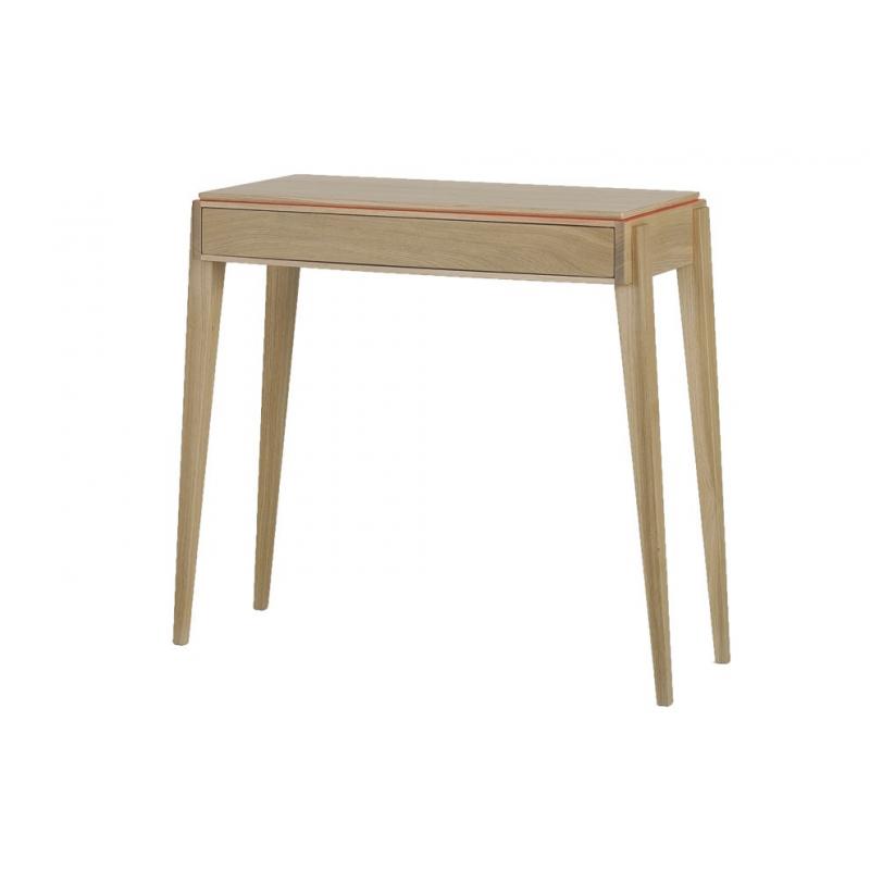 console liser 1 tiroir amobois. Black Bedroom Furniture Sets. Home Design Ideas