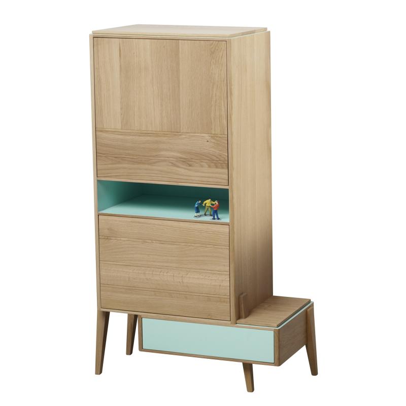 Grand meuble d 39 appoint liser amobois for Petit meubles d appoint