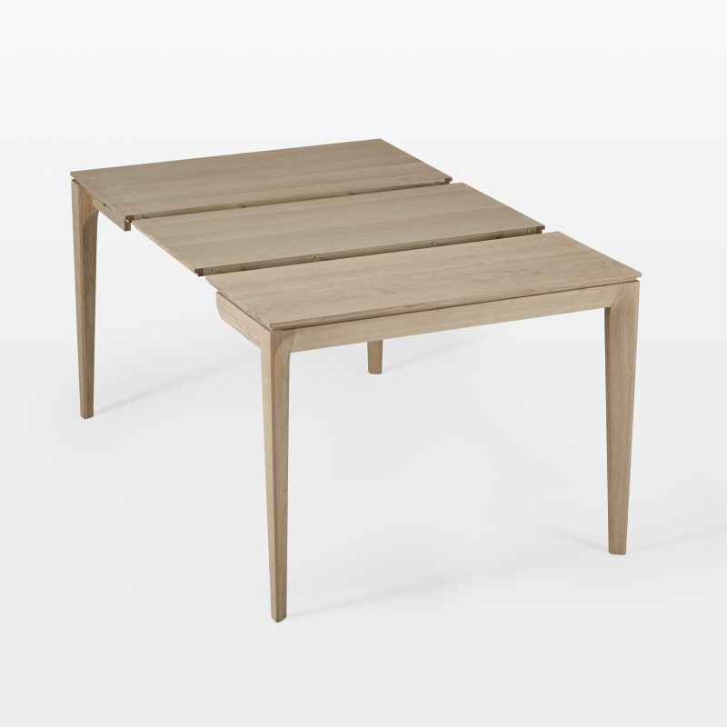console extensible et table de repas gain de place design