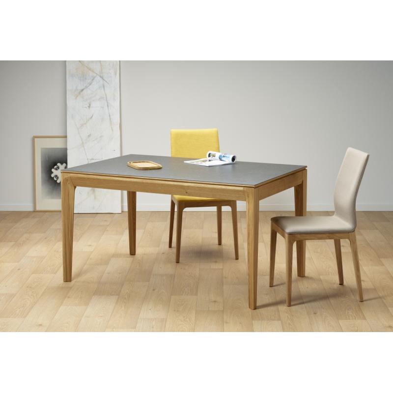 Table Design Ecologique Ceramique Bois Made In France Buzz Dasras