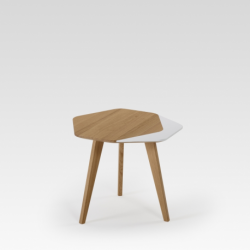 Petite table basse bois design FLO