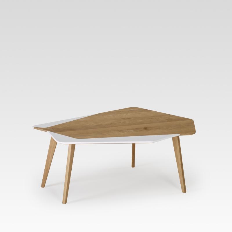 table basse design l gante personnalisable en bois made. Black Bedroom Furniture Sets. Home Design Ideas