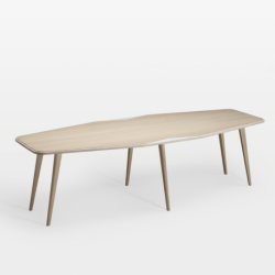 Table bois design FLO Julie Gaillard made in France