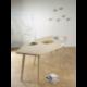 Table bois design FLO Julie Gaillard made in France