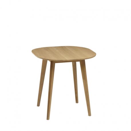 Table haute bois massif design SNACK fabriqué en France par DASRAS