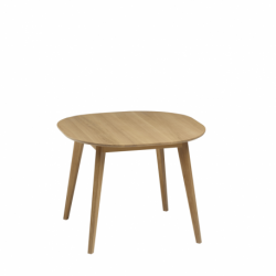 Table bois massif design SNACK