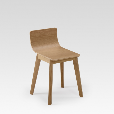Tabouret bois de Chêne design SNACK par DASRAS