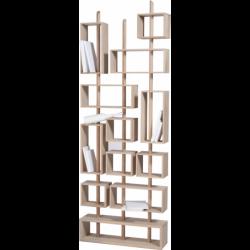 Bibliothèque design et modulable en bois 3 MATS