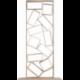 Bibliothèque design déstructurée en bois BRIC A BRAC