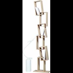 Bibliothèque design en bois KAO simple