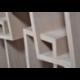 Bibliothèque au design original et déstructuré KAO double