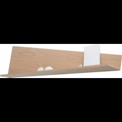 Étagère au design original origami en bois personnalisable