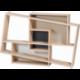 Console au design scandinave et décalé personnalisable en bois ISBOA