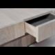 Table basse pivotante design personnalisable en bois CUBOCARRÉ