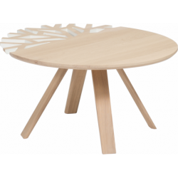 Table basse design nature en bois personnalisable CANOPÉE