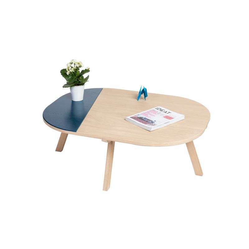 table basse aronde. Black Bedroom Furniture Sets. Home Design Ideas