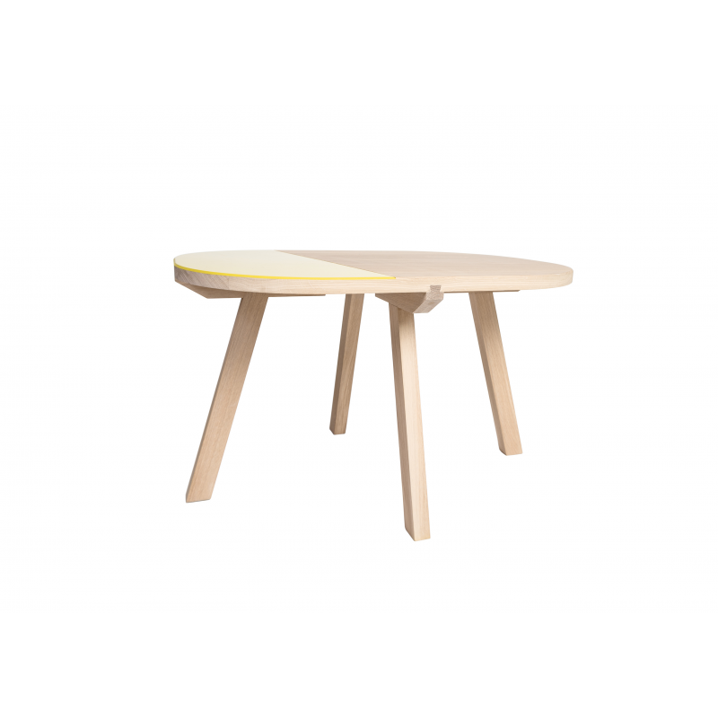 Table basse ARONDE # Table Basse Contemporaine Bois