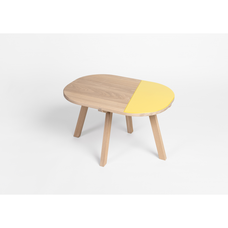 Table basse aronde for Table basse personnalisable