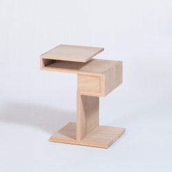 Table de chevet personnalisable en bois au design scandinave GLYCINE