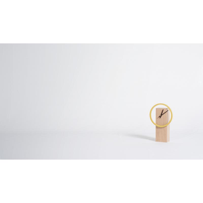 horloge poser design pur e en bois personnalisable cyclock. Black Bedroom Furniture Sets. Home Design Ideas