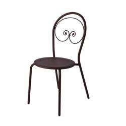 Chaise de jardin classique en fer forgé CLOSERIE