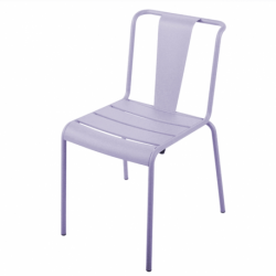Chaise de jardin métal vintage Paname