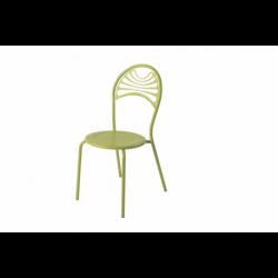 Chaise de jardin métal rétro CABARET