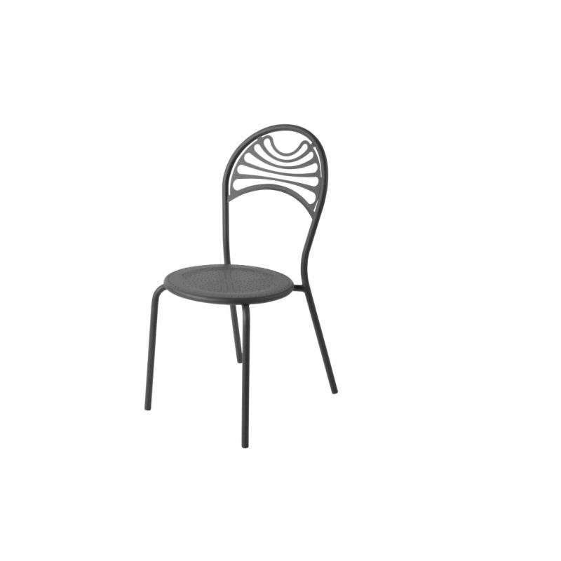 chaise de jardin metal chaise de jardin empilable grise en acier with chaise de jardin metal. Black Bedroom Furniture Sets. Home Design Ideas