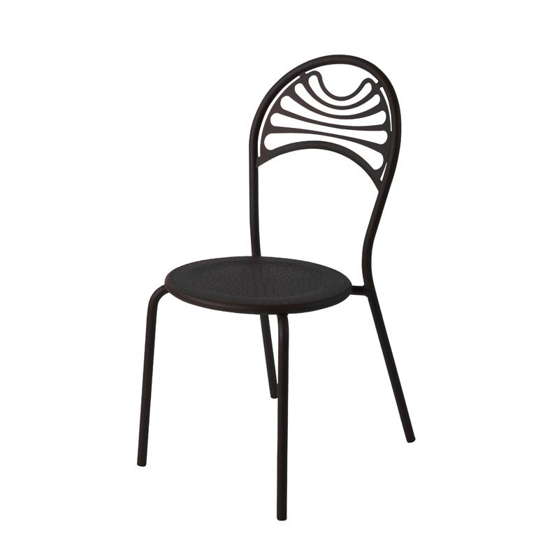 chaise de jardin m tal r tro cabaret amobois. Black Bedroom Furniture Sets. Home Design Ideas