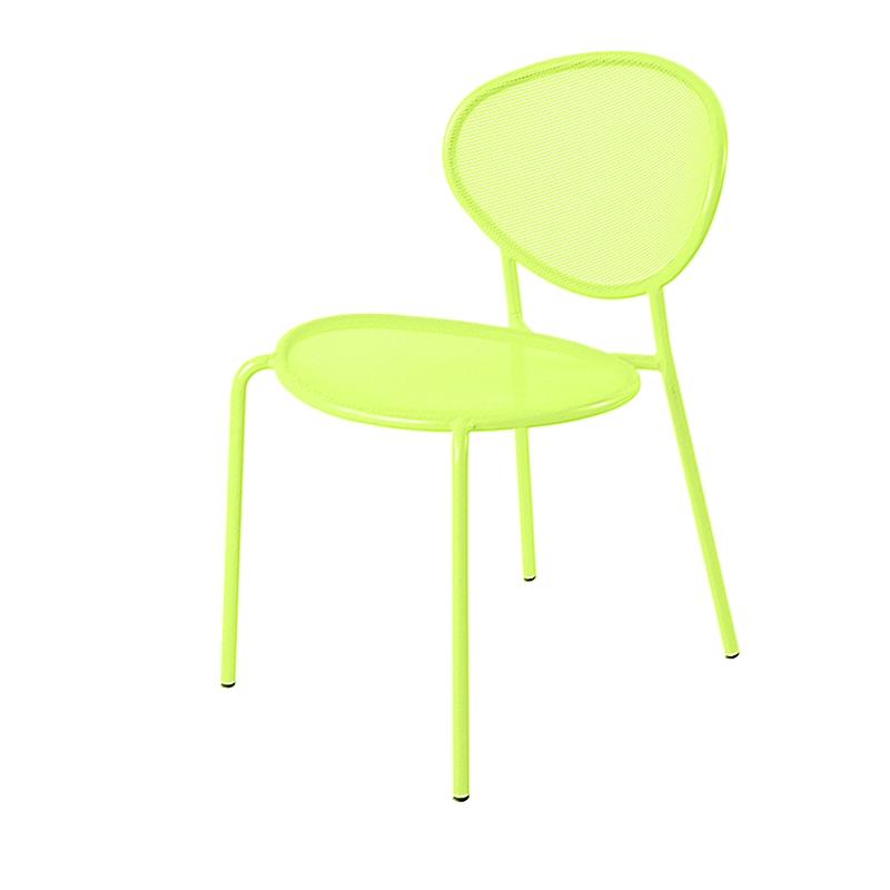 chaise de jardin m tal design et empilable shadow amobois. Black Bedroom Furniture Sets. Home Design Ideas