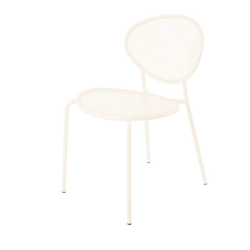 Chaise de jardin m tal design et empilable shadow amobois - Chaise empilable design ...