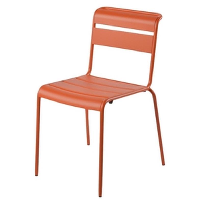 Chaise lutetia - Chaise salon de jardin vintage ...