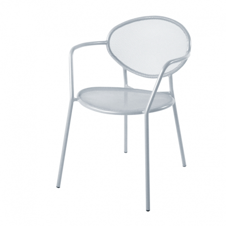 fauteuil de jardin m tal design et empilable shadow amobois. Black Bedroom Furniture Sets. Home Design Ideas