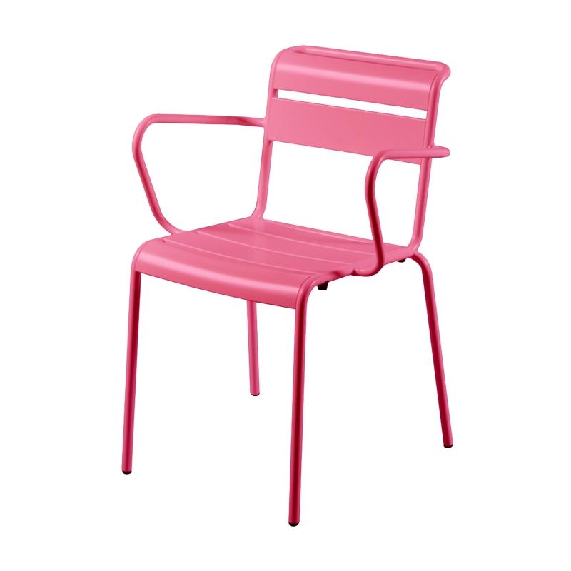 fauteuil d 39 ext rieur vintage de style jardin du luxembourg en m tal personnalisable lutetia. Black Bedroom Furniture Sets. Home Design Ideas