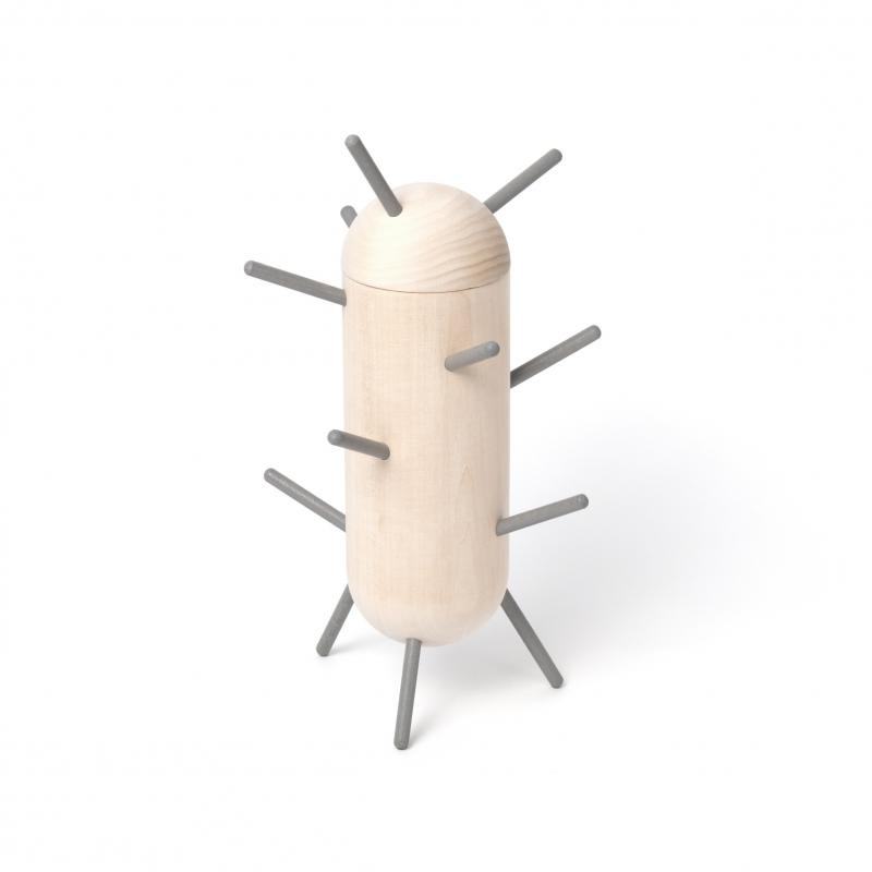 Boîte Et Porte Bijoux Design Cactus Avec Son Petit Miroir Amobois