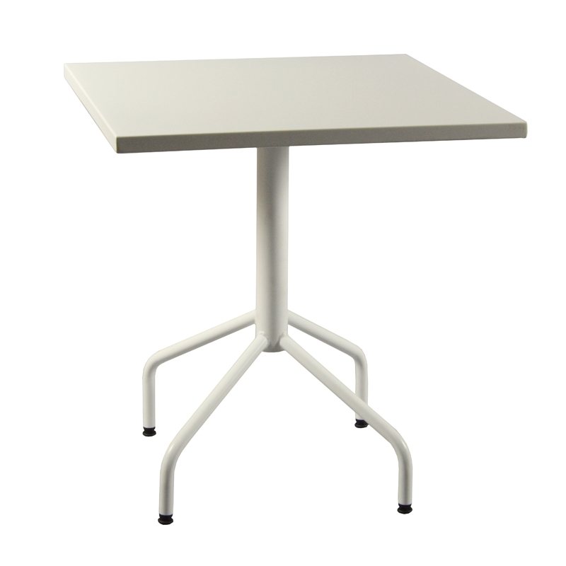 Table m tal rabattable carr e - Table de jardin carree aluminium ...