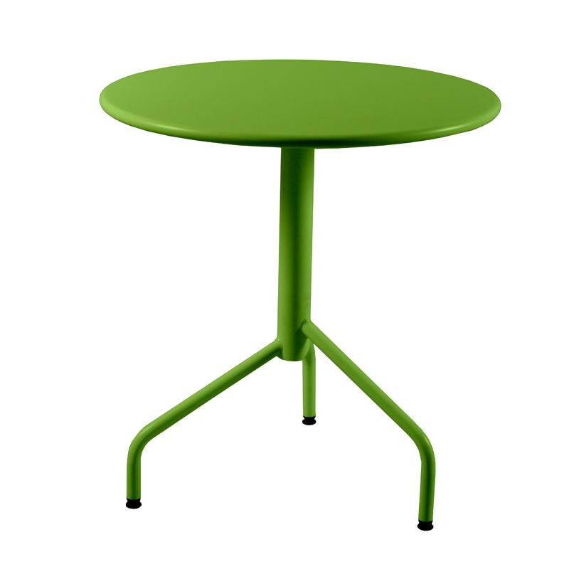 Table m tal rabattable ronde 3 pieds - Pied de table pliable ...