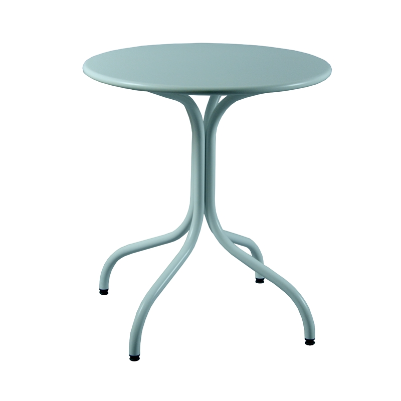 Table De Jardin Ronde Metal Maison Design
