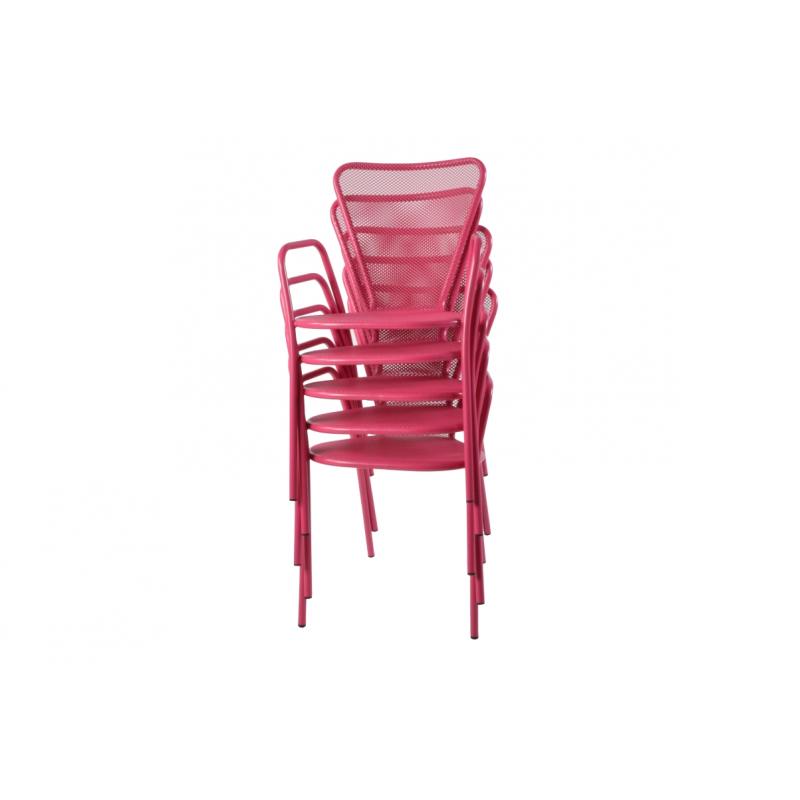 fauteuil de jardin design m tal sunset amobois. Black Bedroom Furniture Sets. Home Design Ideas