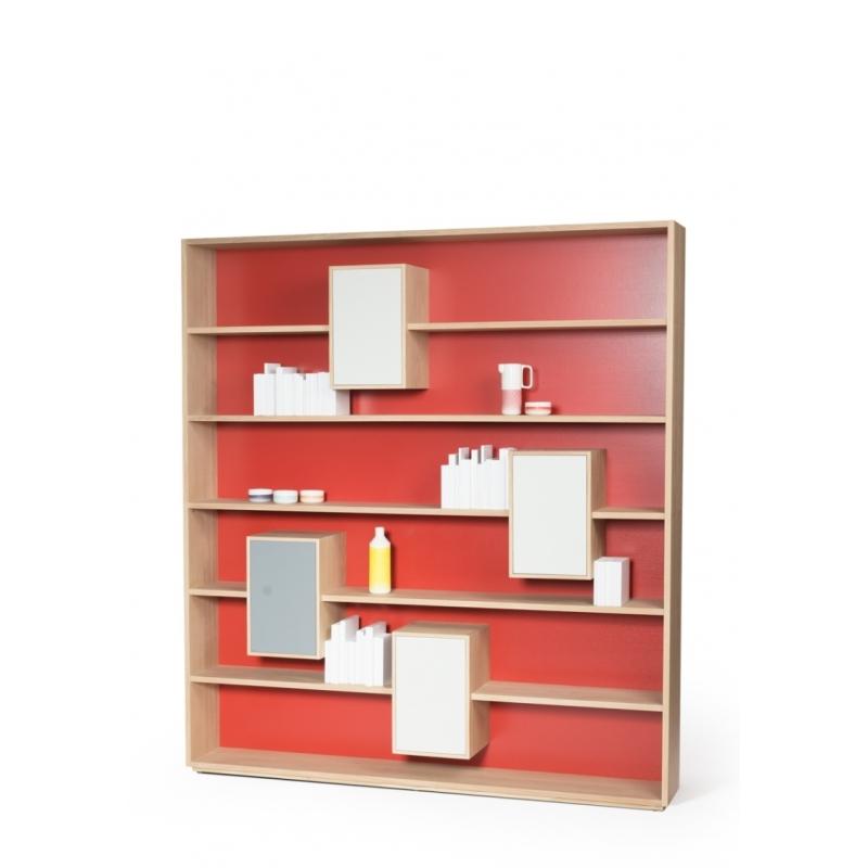 rangement scandinave flke bureau scandinave avec pitements en chne et tiroir de rangement. Black Bedroom Furniture Sets. Home Design Ideas