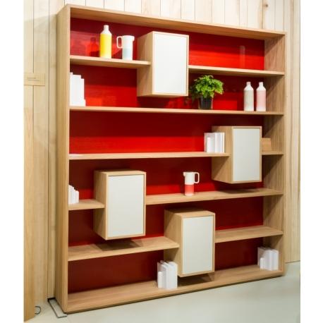 biblioth que mixage 190. Black Bedroom Furniture Sets. Home Design Ideas