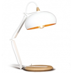 Lampe design bois métal made in France Rhoda LAMPARI