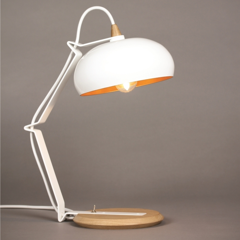 Lampe design bois m tal made in france rhoda lampari amobois for Lampe design en bois