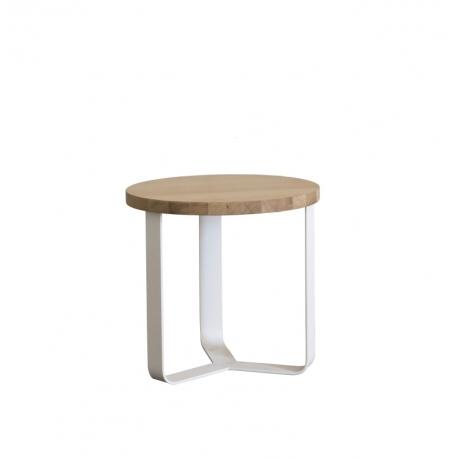 table de nuit m tal bois design lola amobois. Black Bedroom Furniture Sets. Home Design Ideas