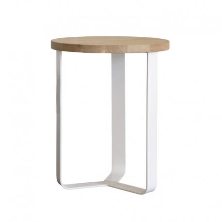 Table de nuit métal bois design Lola