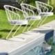 Fauteuil terrasse jardin ou intérieur métal design Korbeill