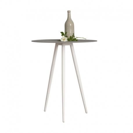 Table d'appoint métal design Swan