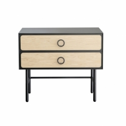 Commode métal bois design Mr & Mrs